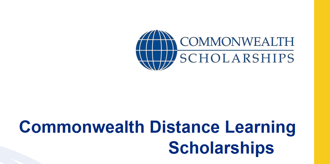 Commonwealth Distance Learning Scholarships 2019/2020 for